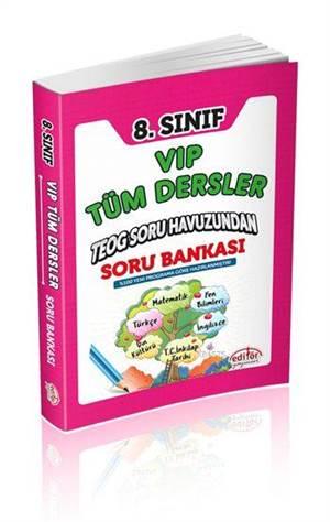 8. Sınıf VIP Tüm Dersler Soru Bankası; TEOG Havuzundan