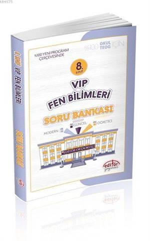 8. Sınıf VIP Fen Bilimleri Soru Bankası