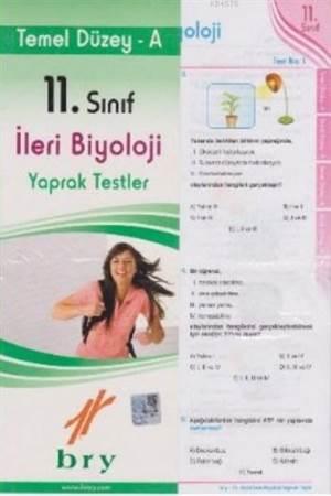 11. Sınıf İleri Biyoloji Yaprak Testler; Temel Düzey A