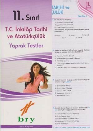 11. Sınıf T.C. İnkılap Tarihi Ve Atatürkçülük Yaprak Testler