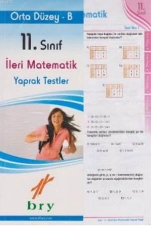 11. Sınıf İleri Matematik Yaprak Testler Orta Düzey B