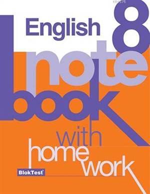 8.Sınıf Bloktest İngilizce Notebook