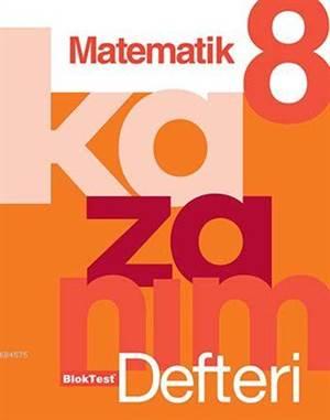 8.Sınıf Bloktest Matematik Kazanım Defteri