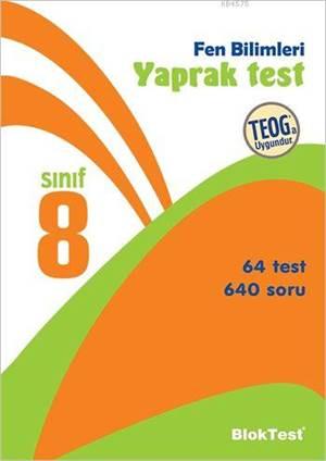 8.Sınıf Bloktest Fen Bilimleri Yaprak Test