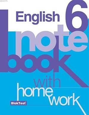 6.Sınıf Bloktest İngilizce Notebook