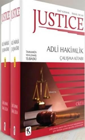 Justice Adli Hakimlik Çalışma Kitabı (2 Cilt)