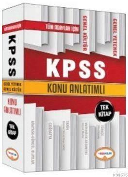 Kpss Genel Yetenek Genel Kültür Konu Anlatımlı Tek Kitap 2016