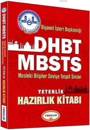 2016 DHBT Diyanet İşleri Başkanlığı MBSTS Yeterlik Hazırlık Kitabı