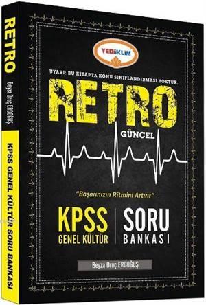 KPSS 2016 Genel Kültür Retro Güncel Soru Bankası