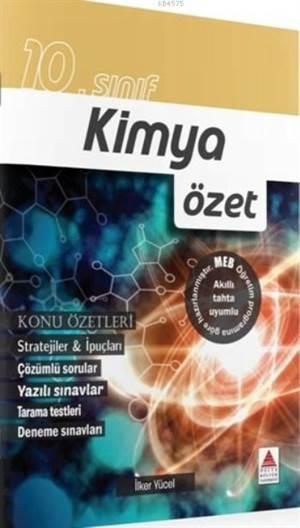 10.Sınıf Kimya Özet