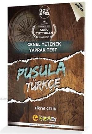 2017 KPSS Pusula Türkçe Genel Yetenek Yaprak Test