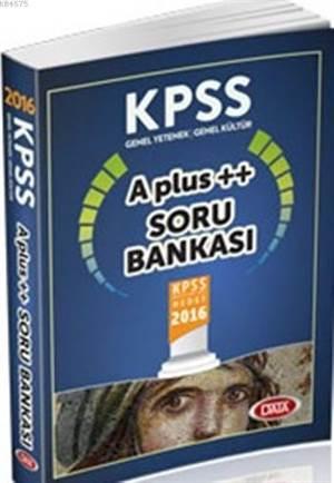 KPSS G.Y-G.K A Plus ++ Soru Bankası