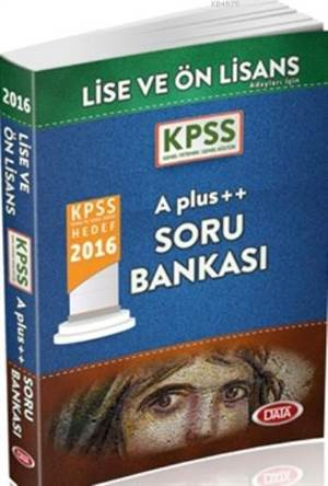 KPSS Lise ve Önlisans A Plus ++Soru Bankası