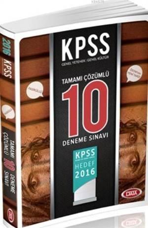 2016 KPSS Lise & Önlisans Vip Tamamı Çözümlü Soru