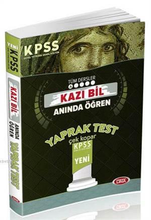 2016 KPSS GY-GK Yaprak Test Kazı Bil Anında Öğren
