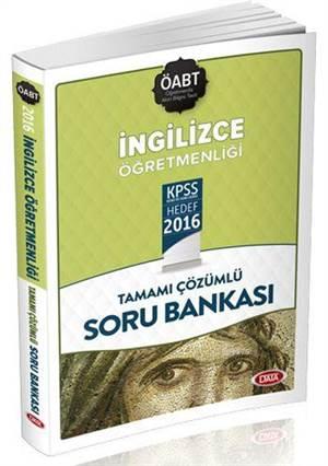 Öabt İngilizce Öğretmenliği Tamamı Çözümlü Soru Bankası 2016