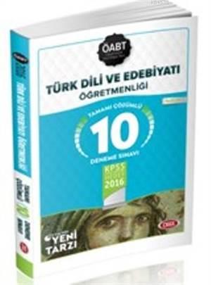Öabt Türk Dili Ve Edebiyatı Öğretmenliği Tamamı Çözümlü 10 Deneme Sınavı 2016