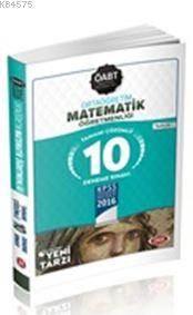 Öabt Ortaöğretim Matematik Öğretmenliği Tamamı Çözümlü 10 Deneme Sınavı 2016