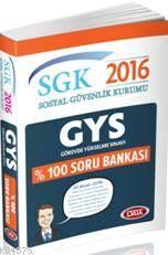 Data Sgk Görevde Yükselme %100 Soru Bankası 2016