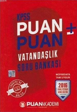 KPSS Puan Puan Vatandaşlık Soru Bankası 2016