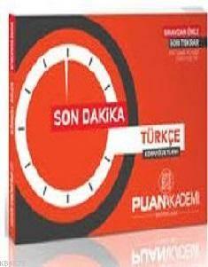 2016 KPSS Türkçe Son Dakika Ders Notları