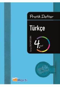 4.Pratik Defter Turkce Ogrenci