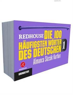 Die 100 häufigsten Wörter des Deutschen 1; Redhouse Almanca Sözcük Kartları 1 - Başlangıç Düzeyi