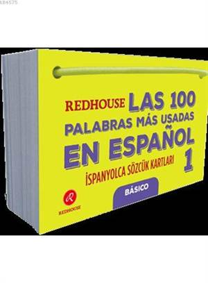Las 100 Palabras Más Usadas En Español 1; Redhouse İspanyolca Sözcük Kartları