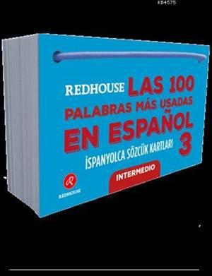 Las 100 Palabras Más Usadas En Español 3; Redhouse İspanyolca Sözcük Kartları
