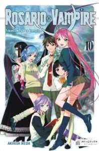 Rosario+Vampire10 Tılsımlı Kolye ve Vampir Cilt 10