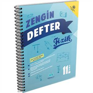 11.Sınıf Zengin Defter Fizik (2 Defter)
