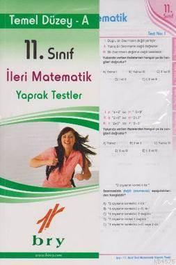 Birey 11. Sınıf İleri Matematik Yaprak Testler - Temel Düzey A