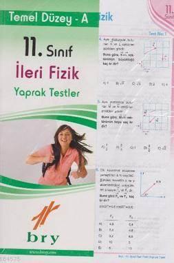 Birey 11. Sınıf İleri Fizik Yaprak Testler - Temel Düzey A