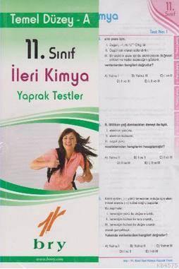 Birey 11. Sınıf İleri Kimya Yaprak Testler - Temel Düzey A