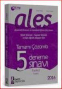 İseald5 Ales Tamamı Çözümlü 5 Deneme 20