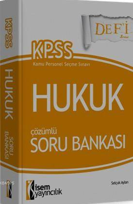 Kpss A Grubu Hukuk Çözümlü Soru Bankası 2016