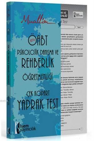Muallim ÖABT Psikolojik Danışma Ve Rehberlik Öğretmenliği Yaprak Test 2016; Çek Kopar Yaprak Test