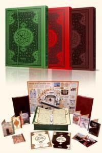 Kur'an-ı Kerim Orta Boy Kalemli 4 Renk