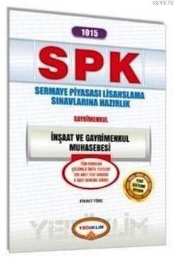 Spk 1015 İnşaat Ve Gayrimenkul Muhasebesi