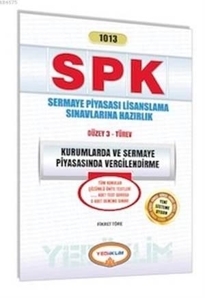 Spk 1013 Kurumlarda Ve Sermaye Piya. Vergilendirme