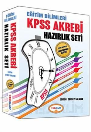 KPSS Akrebi Eğitim Bilimleri Hazırlık Seti 2015