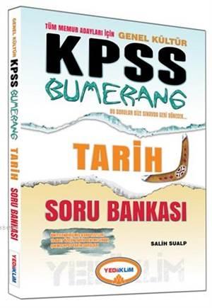 KPSS Genel Kültür Bumerang Tarih Soru Bankası 2015