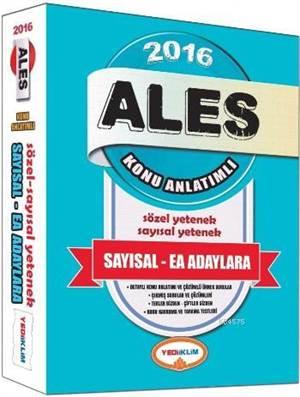 ALES 2016 KA ( Sayısal - EA  Adaylara )