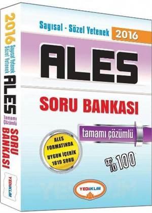 ALES 2016 Tamamı Çözümlü SB