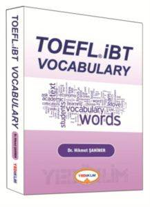 2016 Yediiklim Toelf IBT Vocabulary Words