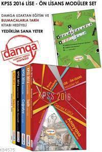 2016 Yediiklim KPSS Lise Ön Lisans Konu Anlatımlı Modüler Set (6 Kitap)
