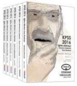 2016 KPSS Eğitim Bilimleri Tamamı Çözümlü Soru Bankası (6 Kitap)