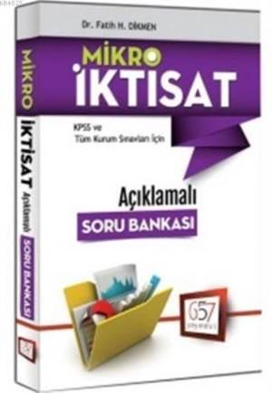 KPSS A Grubu Mikro İktisat; Açıklamalı Soru Bankası