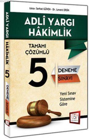 Adli Yargı Hakimliği Tamamı Çözümlü 5 Deneme Sınavı 2015