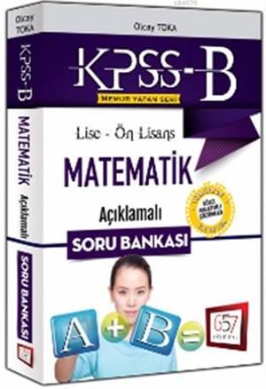 Lise Ön Lisans Matematik Acıklamalı Soru Bankası 2016